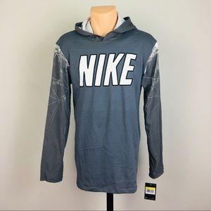 Nike Dri-Fit Pullover Hoodie Long Sleeve Men's S